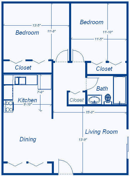 Floor plans for Home design 900 square