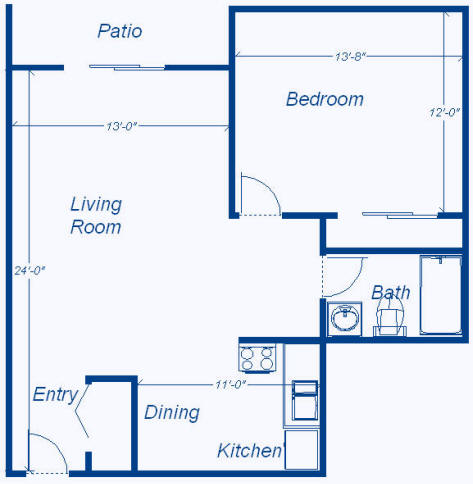 Floor Plans - 750 sq ft house floor plans